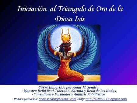 Publicidad Sanación del Triangulo Dorado de la Diosa